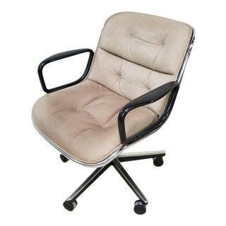 1980s Vintage Knoll Charles Pollock Office Chair For Sale