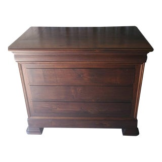 19th Century French Louis Philippe Period Oak Commode For Sale