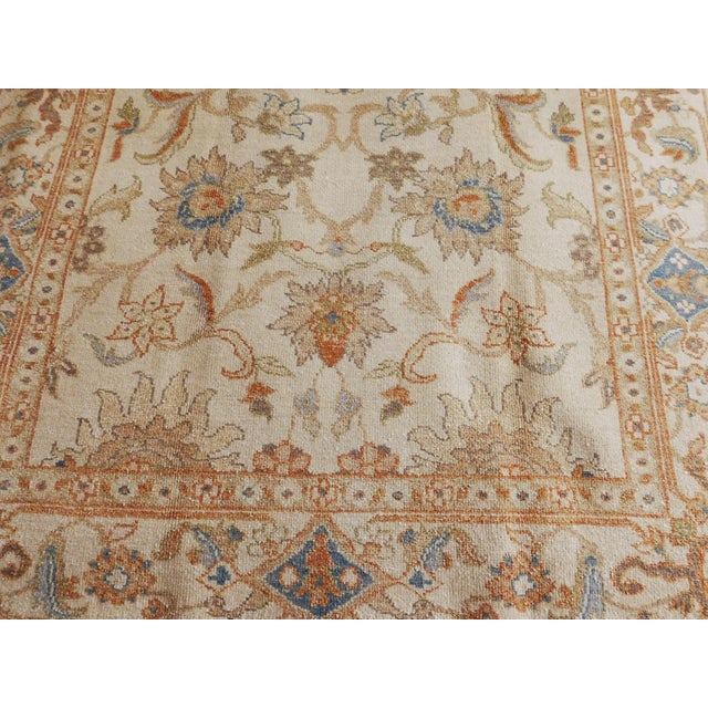 Hand Knotted Chinese Ziegler Rug - 4′ × 6′ For Sale - Image 4 of 10