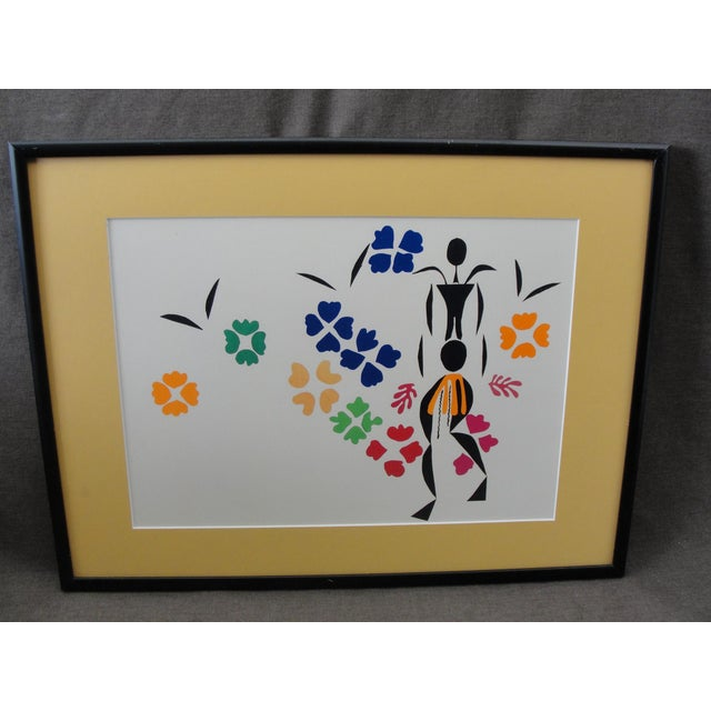 Henri Matisse Framed Print La Negresse This is a modern off set lithograph or print of Le Negresse by Henri Matisse. The...