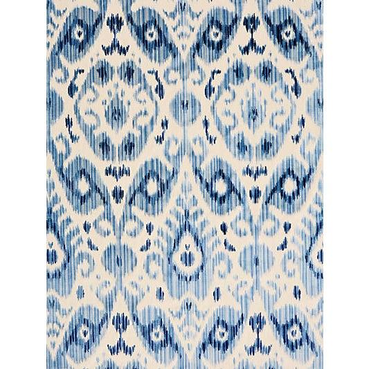Traditional Scalamandre Tashkent Velvet, Pacific Fabric For Sale - Image 3 of 3