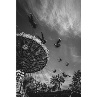 Jason Mageau Swinging Through the Air Photo For Sale