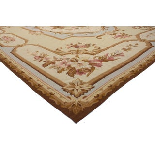 1970s Vintage Needlepoint Rug - 12′4″ × 15′ Preview
