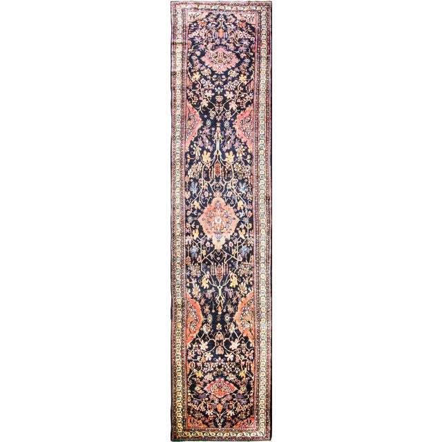 Antique Persian Bakhtiari Runner For Sale