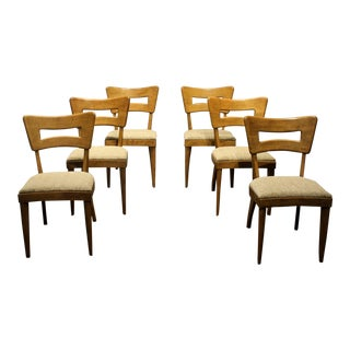 Heywood-Wakefield Mid-Century Modern Dining Chairs, Set of Six For Sale