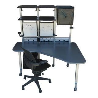 Modern Desk by Richard Hollbrook for Herman Miller For Sale