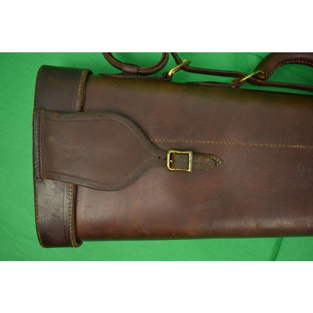 Rustic Abercrombie & Fitch Leather Gun Case For Sale - Image 3 of 9