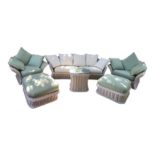 Ficks Reed Patio Furniture Set - Set of 6