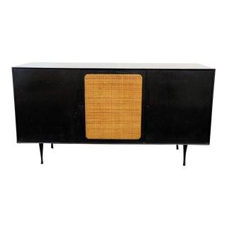 Mid-Century Modern Ebonized Sideboard