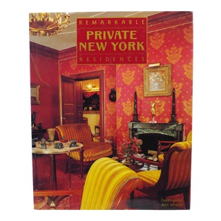 Private New York: Remarkable Residences, Chippy Irvine, 1990 Hardcover First Edition For Sale