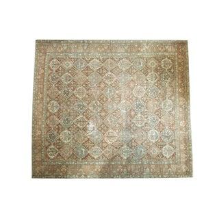 "Vintage Distressed Baktiari Square Carpet - 12'1"" X 13'8"""