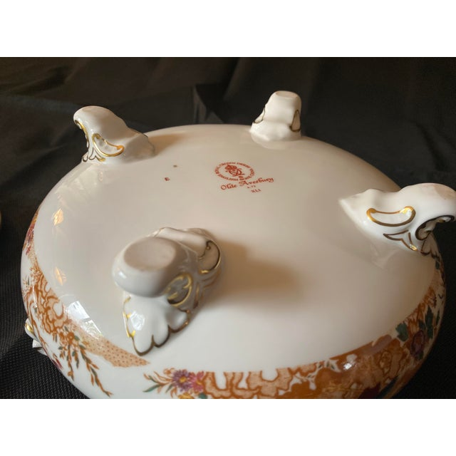 Ceramic 1970s Crown Derby Covered Soup Tureen For Sale - Image 7 of 10
