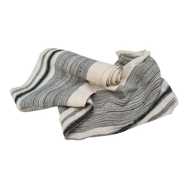 Homespun Linen Tribal Textile Roll For Sale