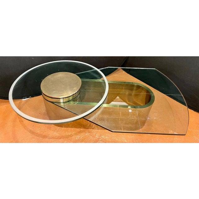 Mid-Century Modern Dakota Jackson Self Winding Coffee Table For Sale - Image 3 of 12