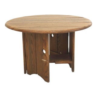 Old Hickory Mission Style American Rustic Coffee Table For Sale