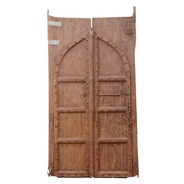 Pair of Antique Spanish Colonial Doors - Pair Of Antique Spanish Colonial Doors Chairish