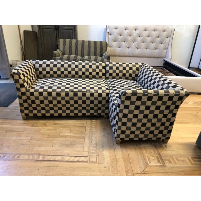 A.Rudin Custom Two-Piece Sectional For Sale - Image 12 of 12