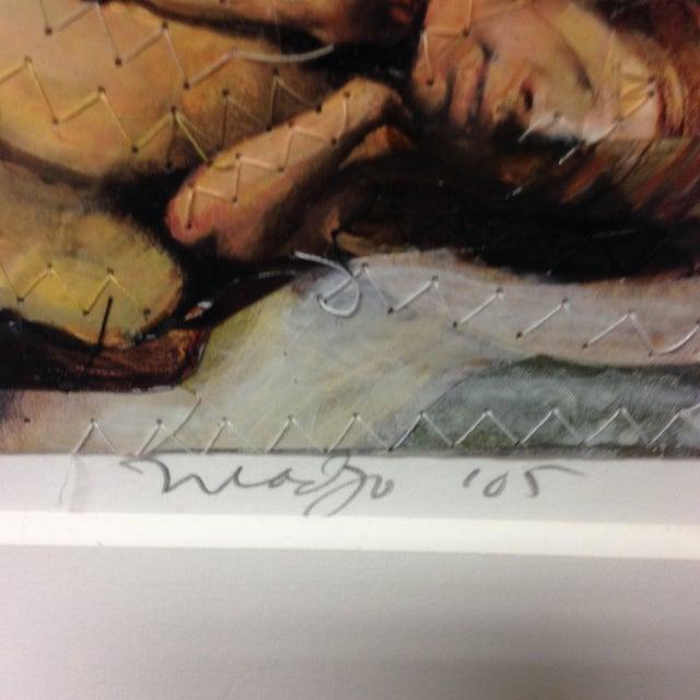 "Original Michael Madzo Signed ""Emerging Couple"" - Image 4 of 11"