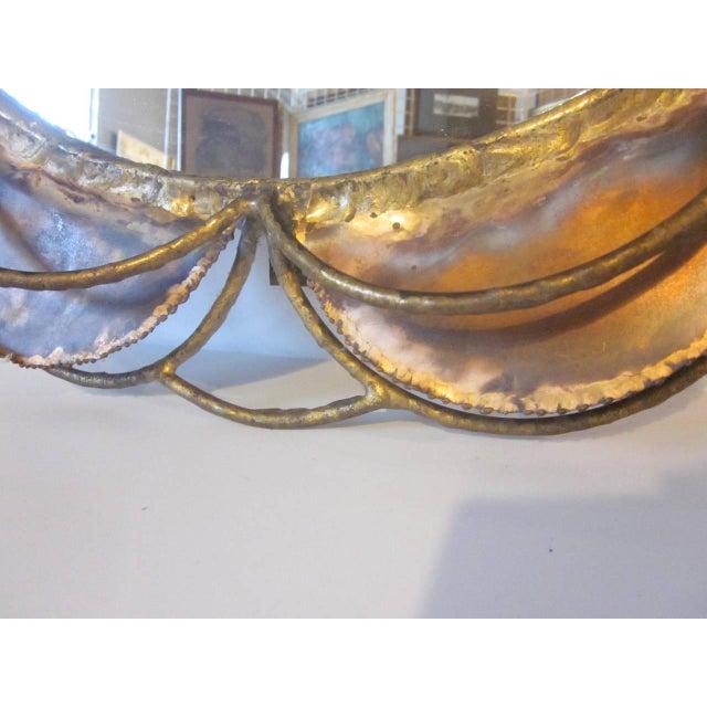 Brutalist Curtis Jere Mirror For Sale - Image 3 of 6