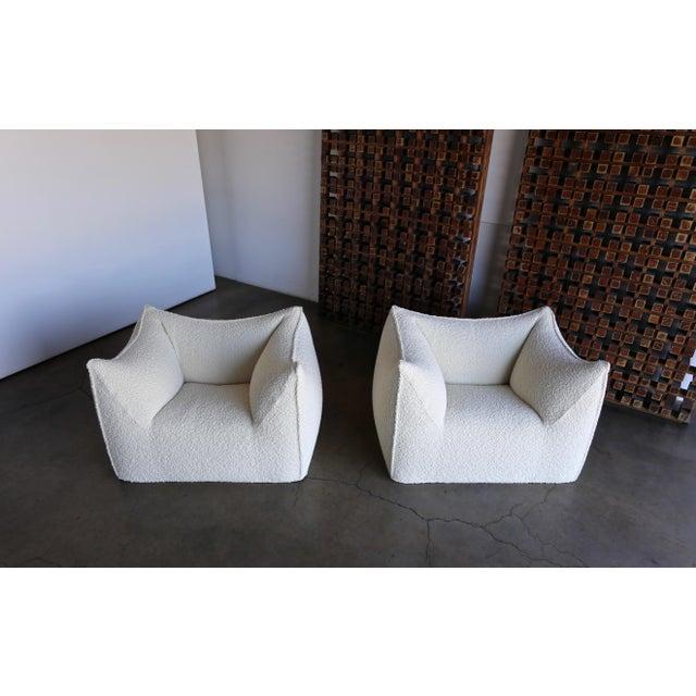 "Contemporary Mario Bellini "" Le Bambole "" Lounge Chairs for B&b Italia, Circa 1985 - a Pair For Sale - Image 3 of 13"