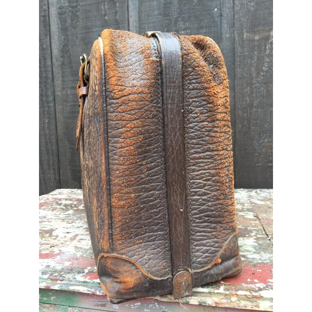 Leather Strap Suitcase For Sale - Image 6 of 13