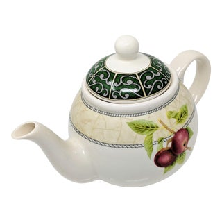 Vintage Arthur Wood Americana Teapot For Sale