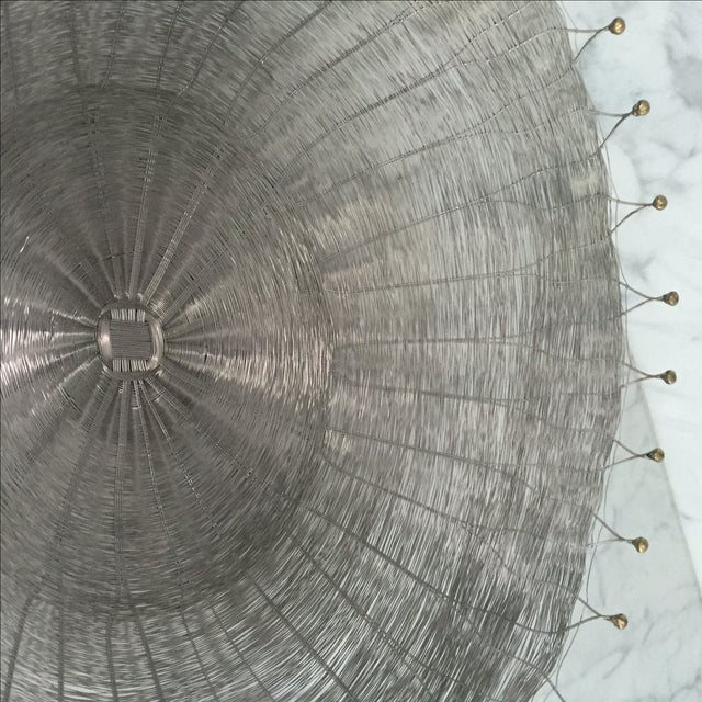 Silver Wire Basket For Sale In San Francisco - Image 6 of 6