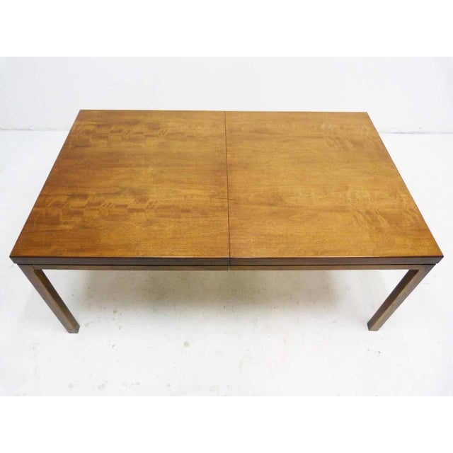 Milo Baughman-Attributed Parsons Dining Table - Image 5 of 9