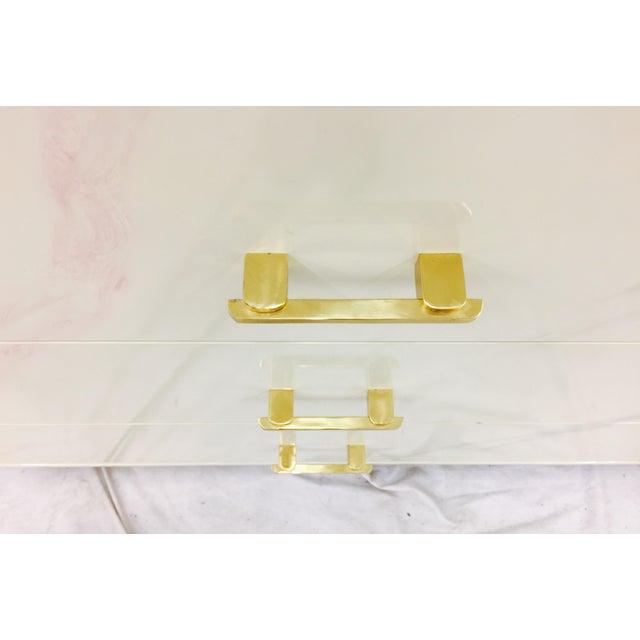 Brass Vintage Modern Dresser by Elkins For Sale - Image 7 of 11
