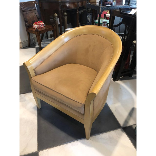 Wood 1960s Vintage Stickley Bay Hill Maple Club Chair For Sale - Image 7 of 7