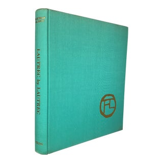 """1968 Vintage """"Lautrec by Lautrec"""" Art Book For Sale"""
