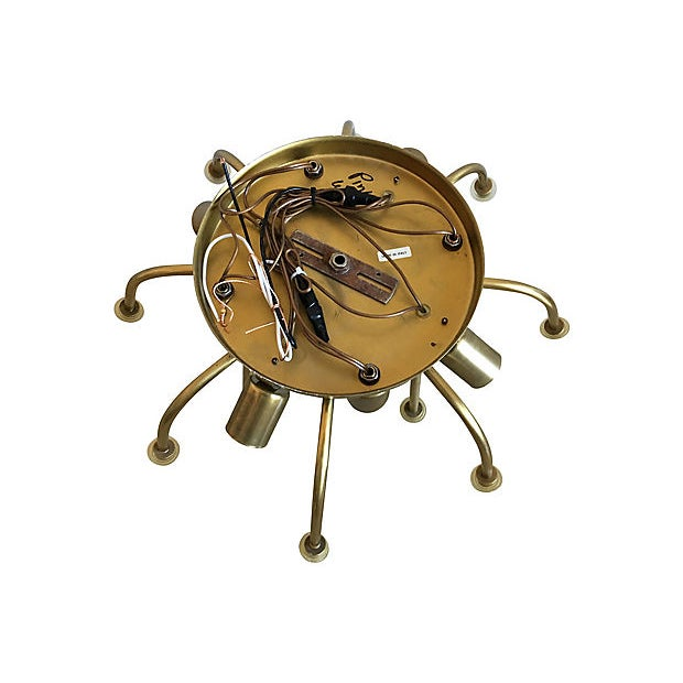 1970s Modern Ceiling Chandelier by Zero Quattro For Sale - Image 11 of 11