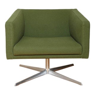 Mid-Century Modern Style Swivel Lounge Chair by Verzelloni For Sale
