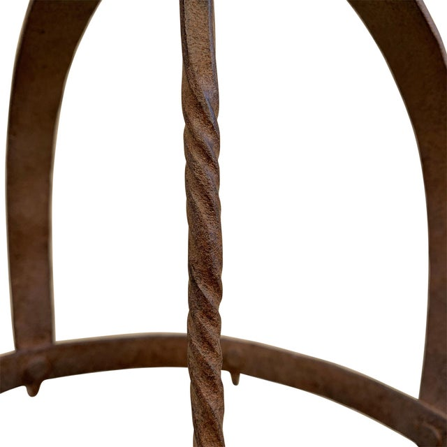 Metal 18th Century French Iron Game Rack For Sale - Image 7 of 8