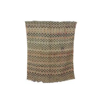 1970s Vintage Moroccan Boujad Rug - 5′ × 6′8″ For Sale