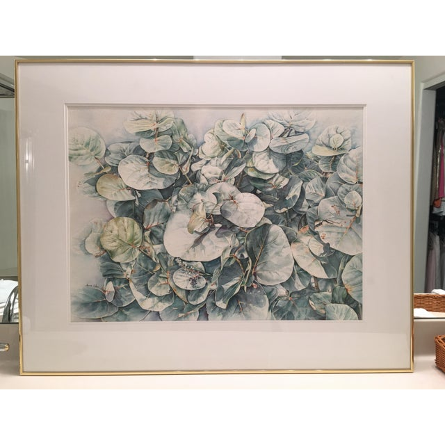Contemporary Original Framed Watercolor Painting by Anna Chen For Sale - Image 3 of 9