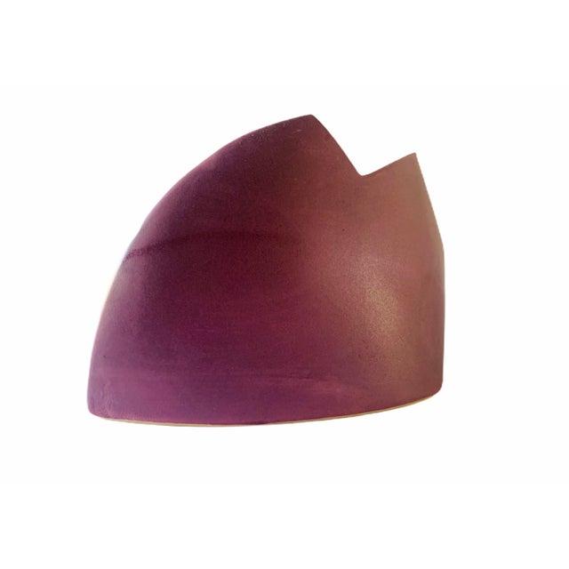 Postmodern J. Johnston Modernist Vase For Sale - Image 3 of 10