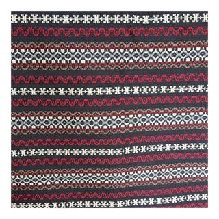 Woven Railroaded Stripe Fabric - 2.75 Yards