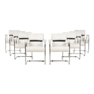 Mariani Dining Chairs - Set of 8 For Sale