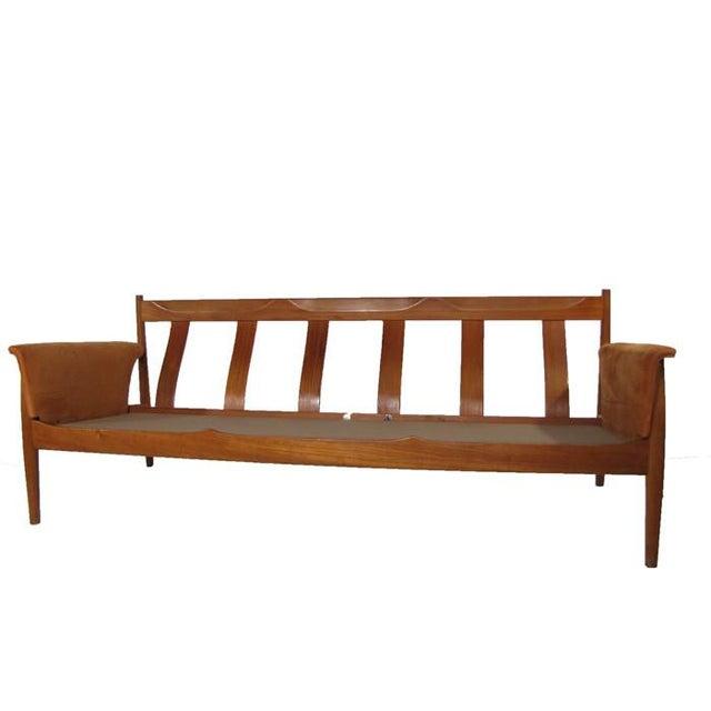 Grete Jalk Teak Sofa & Lounge Chair - A Pair - Image 4 of 9