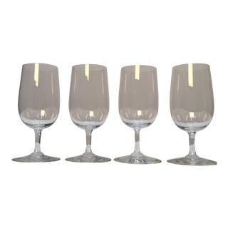 Baccarat France Wine Glasses - Set of 4 For Sale