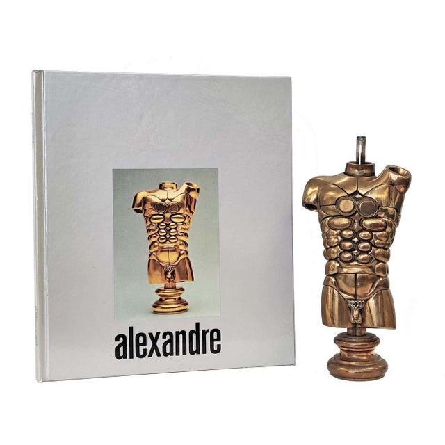 """Contemporary Miguel Berrocal """"Alexandre"""" Three-Dimensional Bronze Mechanical Puzzle Sculpture For Sale - Image 3 of 3"""