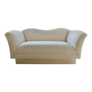 Post Modern Vladimir Kagan Style Loveseat by Directional For Sale