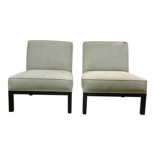 Ralph Lauren Modern Slipper Chairs - A Pair