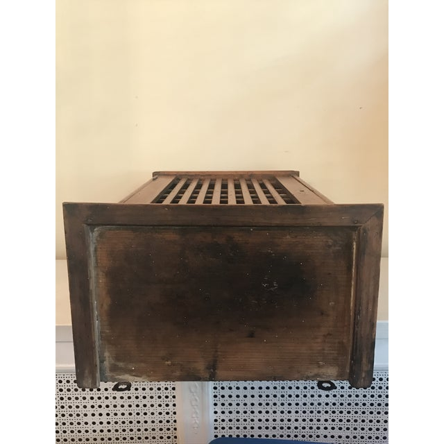 1930s French Walnut Egg Wall Cabinet For Sale - Image 11 of 12