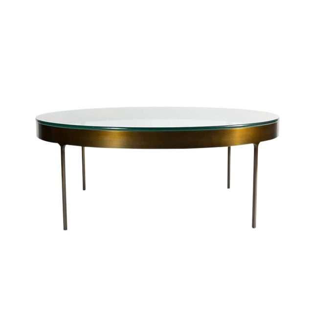 Not Yet Made - Made To Order Haworth Ring Cocktail Table For Sale - Image 5 of 6
