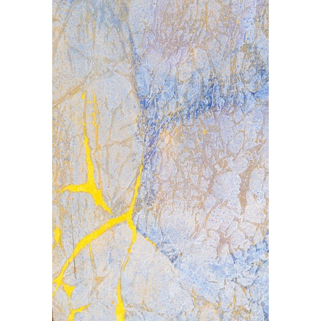 "1970s Fernando Texidor Mid-Century Abstract ""Metamorphosis"" Painting For Sale - Image 5 of 7"