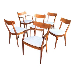 Drexel Declaration Dining Chairs by Kipp Stewart, Set of 6 For Sale