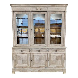 19th. C. French Louis Philippe Bibliotheque For Sale