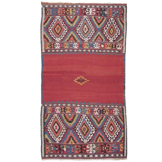 Antique Fethiye Kilim For Sale